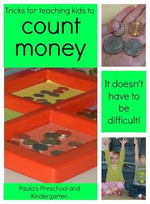 Tricks for teaching kids to count money - it doesn't have to be hard!