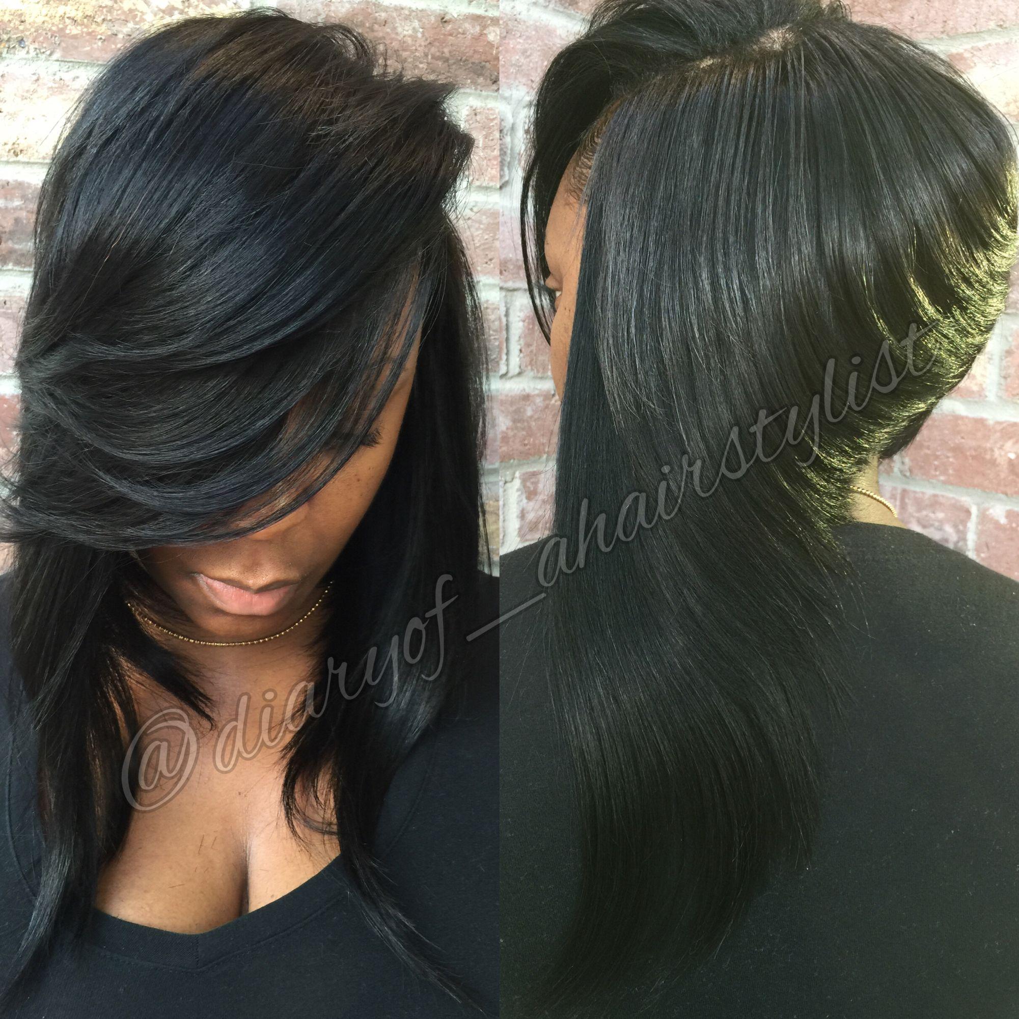 Winged Bob Hair by Meeka Pinterest