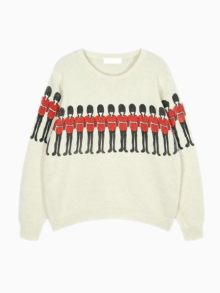 The Soldier Sweater - Choies.com- Just ordered this and can't wait to wear it in London over winter break!