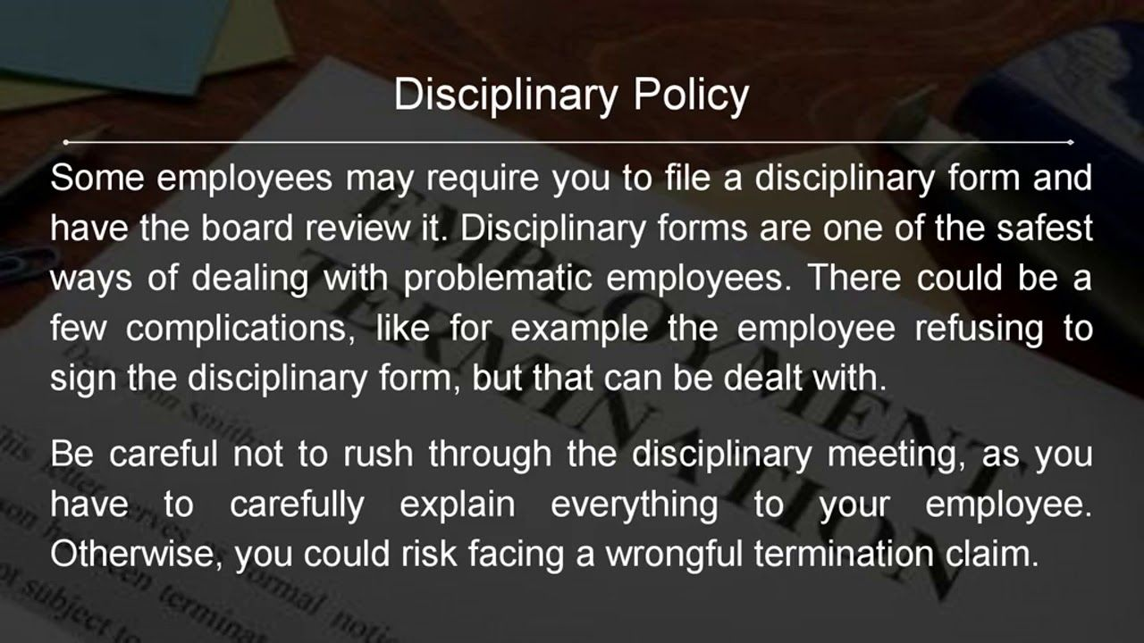 How To Get Rid Of An Employee Without Firing Them