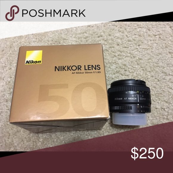 Nikon Nikkor lens 50mm Used once. Comes with box nikon Other