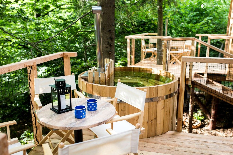 Breathtaking Luxury Tree House Rentals near Lake Bled, Slovenia - Slovenië en Vakantie