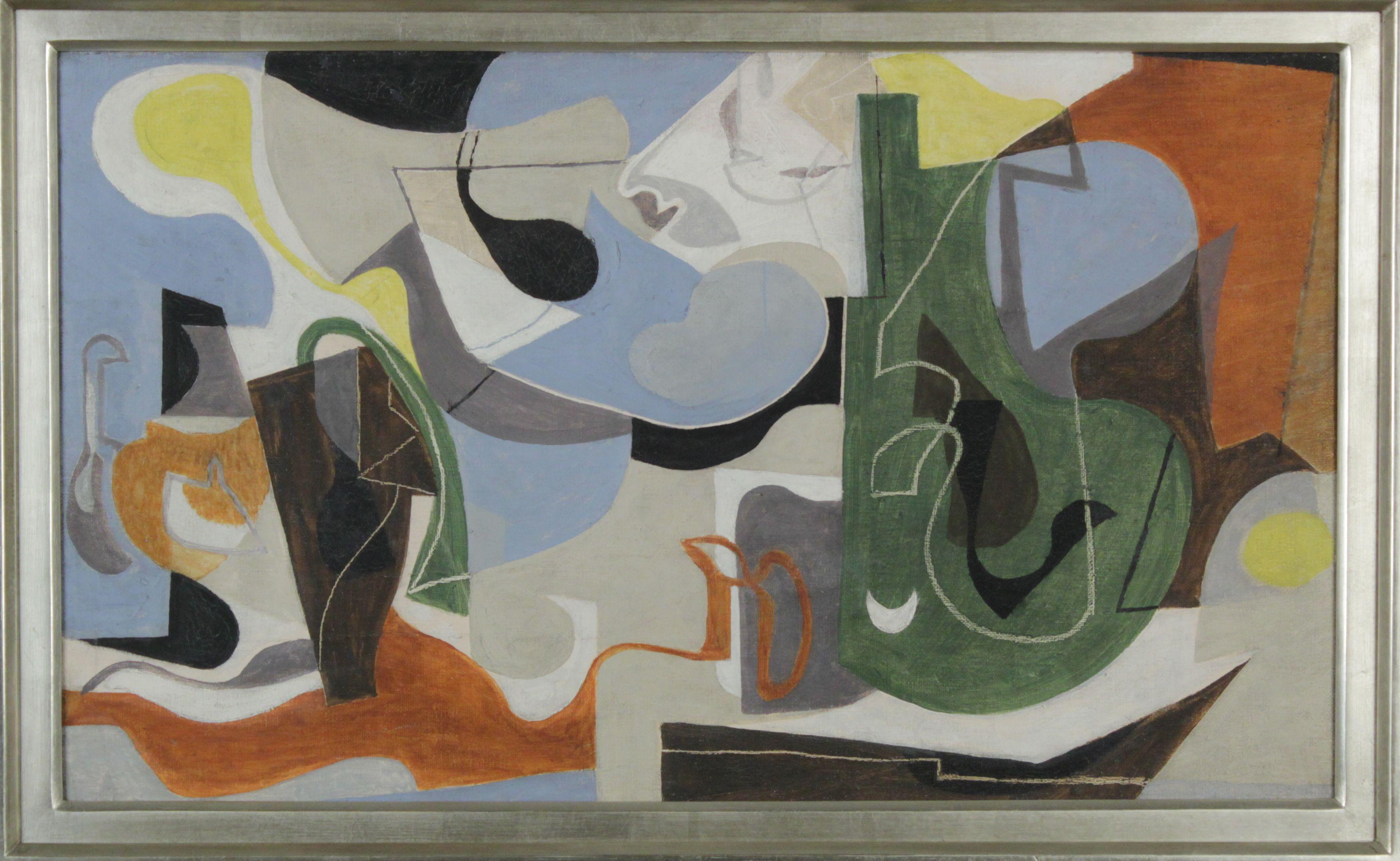 eames ray kaiser contemporary 1939 composition canvas oil museum