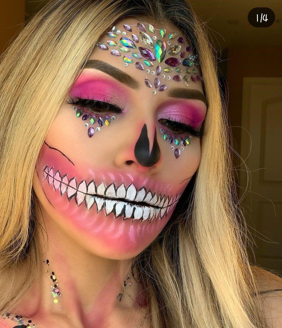 Pin de Lupita Alanis en Halloween Maquillaje
