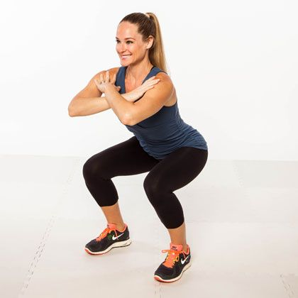10 Knee Friendly Toning Moves Squats Lunges Exercise Fitness Inspiration