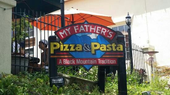 My father's pizza & pasta- Black Mountain, NC  My family love pizza so good yummy.