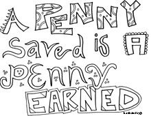 Benjamin Franklin quote coloring pages Also including Einstein ...