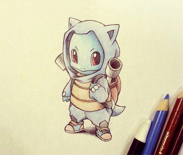 Dessin Pokemon En Couleur