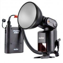 godox flash autonome witstro ad360 avec batterie externe macro