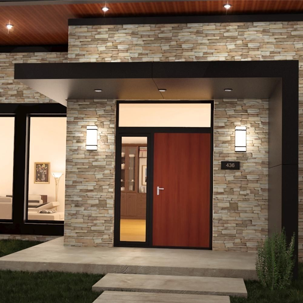 Modern Outdoor Wall Lighting High End Light Fixture Exterior Fixtures Residential