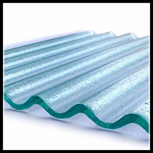 Transparent Corrugated Glass Panels Buy Corrugated Glass