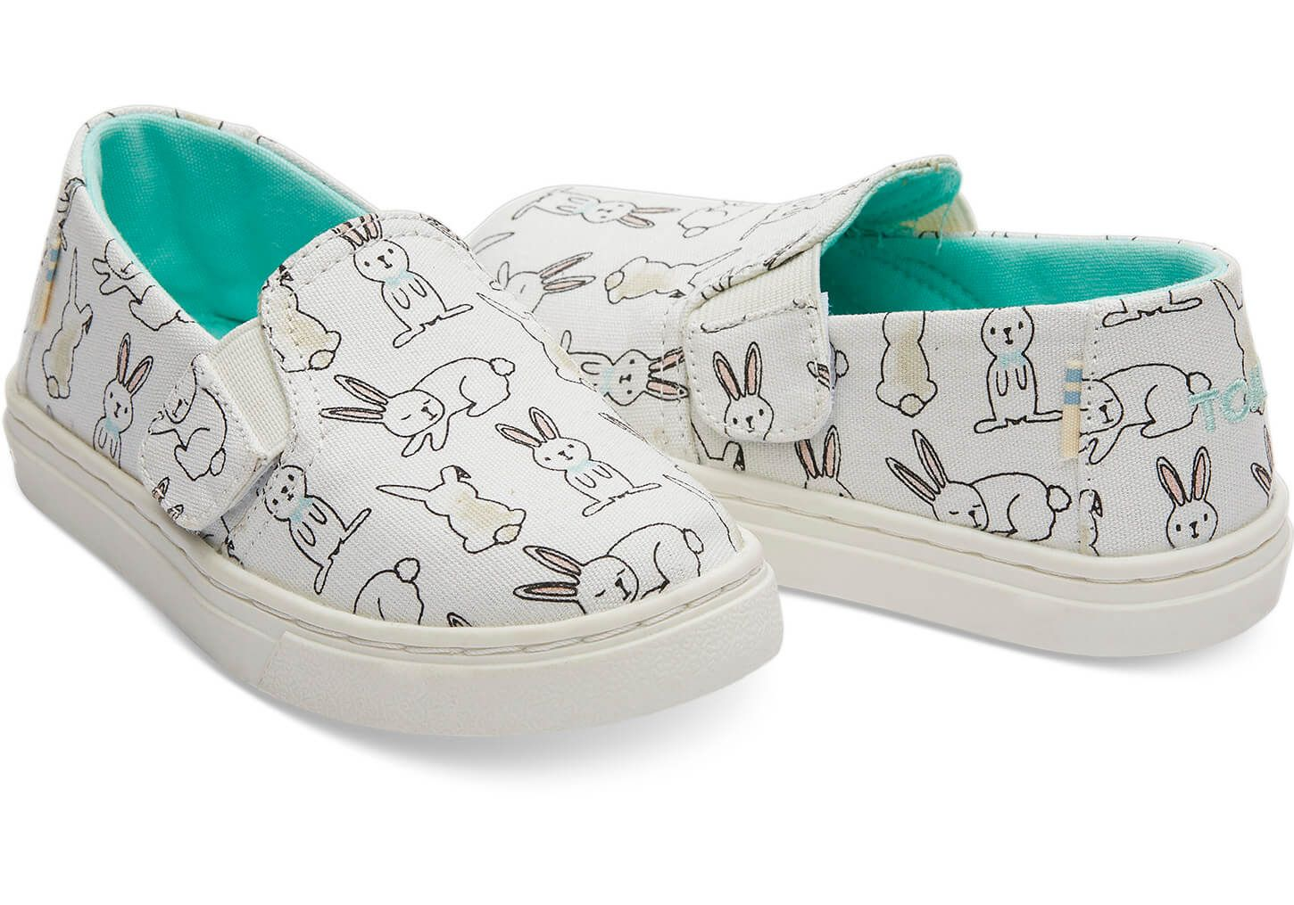 Canvas Tiny TOMS Luca Slip-Ons | TOMS