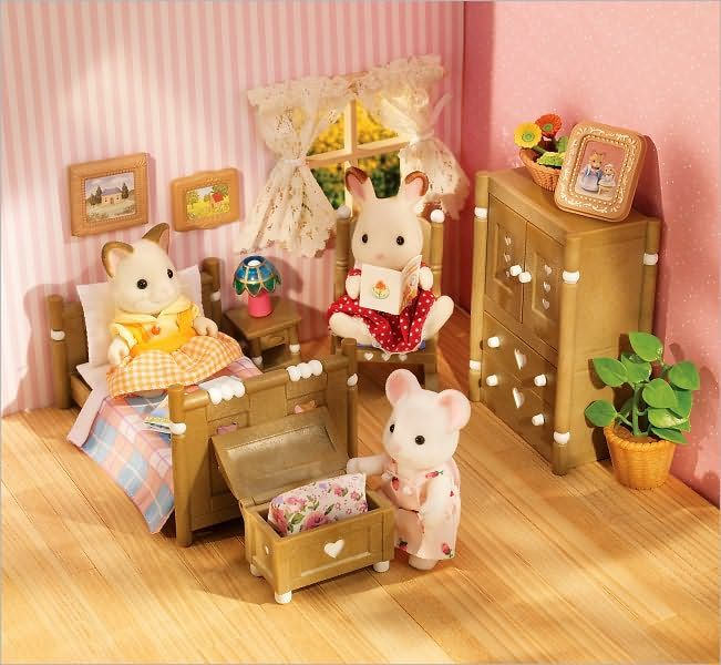 calico critters  country bedroom set  bedroom set