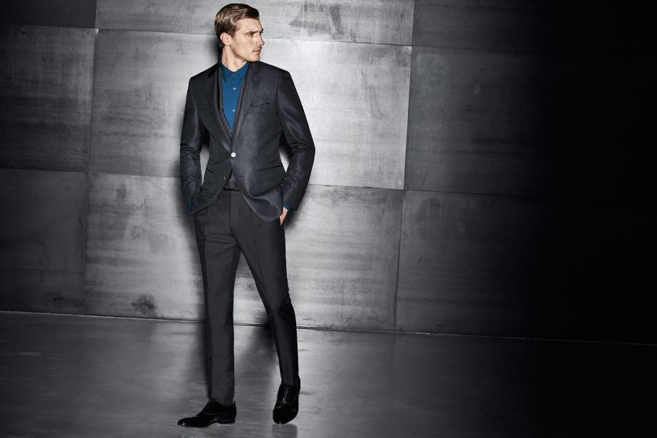 An evening look with relaxed flair for BOSS pre-Spring 2017