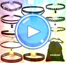 Best DIY Choker Necklaces to Glam Yourself Up 20 Best DIY Choker Necklaces to Glam Yourself Up 20 Best DIY Choker Necklaces to Glam Yourself Up Mudder Black Velvet Choker...