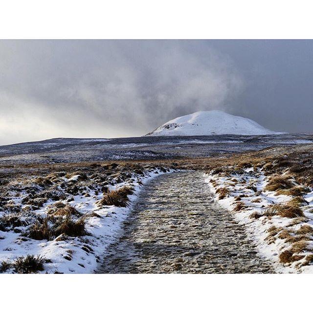 Nice & chilly up the Lomonds today #walking #instascotland #scotland #winterlandscape #fife
