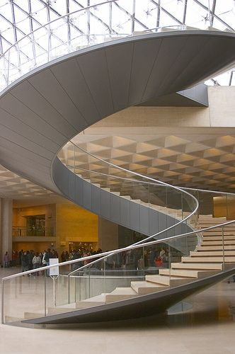 Best Spiral Staircase Le Louvre Modern Staircase Spiral 400 x 300