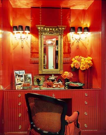 Mary Mcdonald S Bold Design Red Rooms Home Decor Design