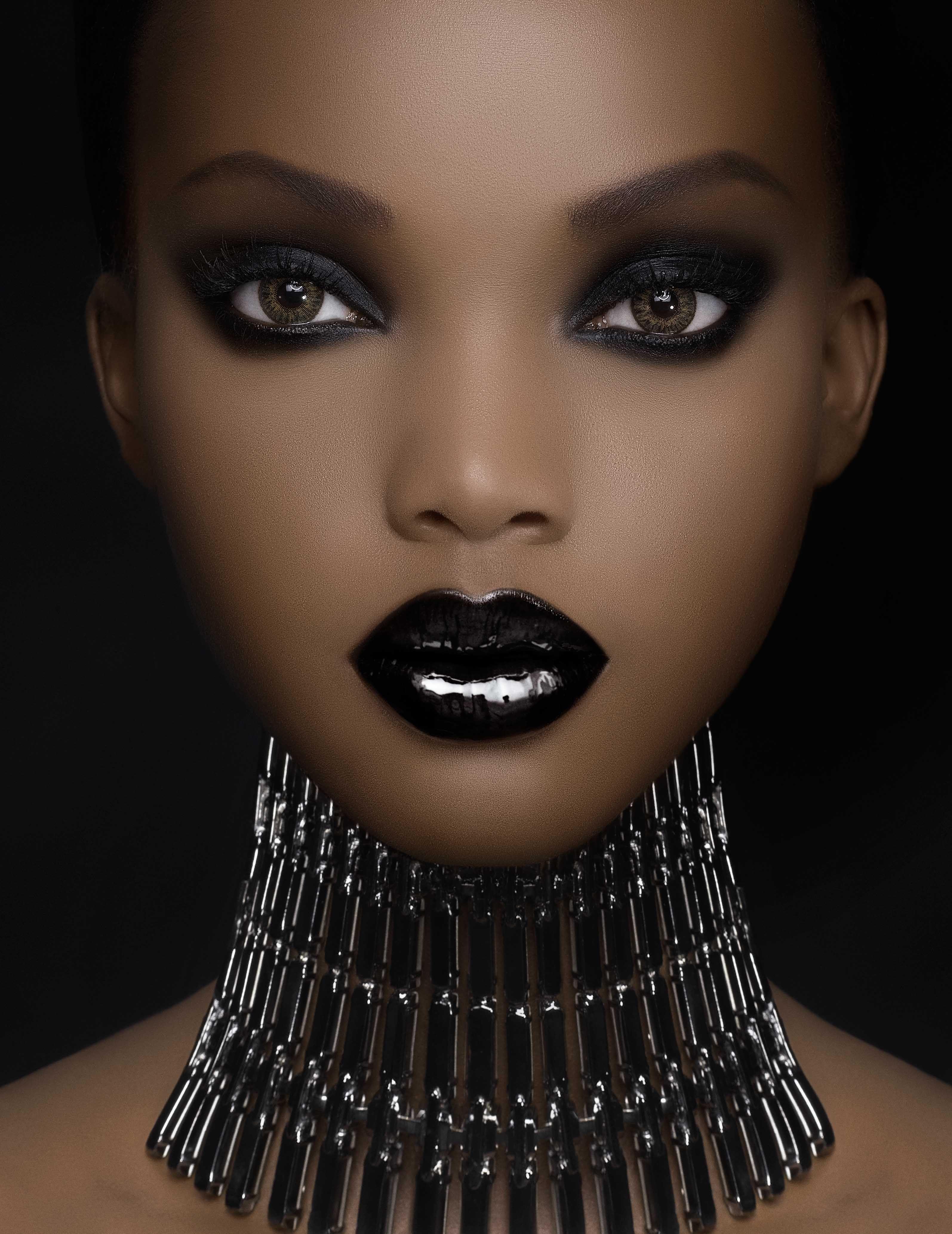 African American Black Art Предметы макияжа, Тени для