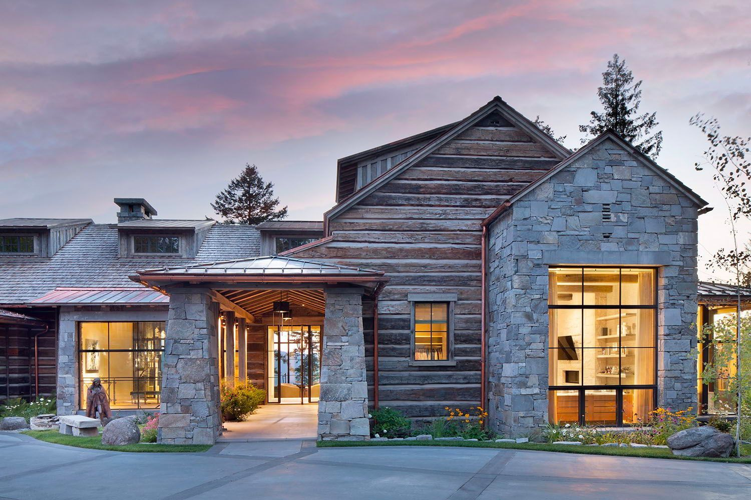 Idyllic Mountainside Home Has Breathtaking Views Of Rocky Mountains In 2021 Montana Homes Craftsman House Plans Craftsman House
