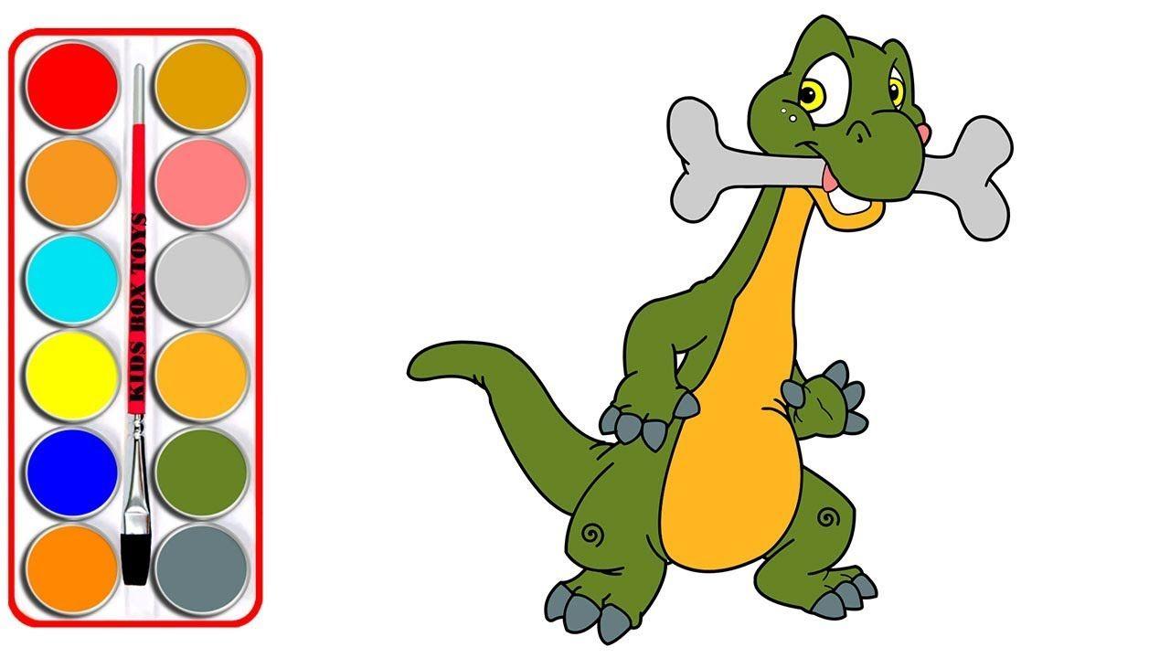 Dinosaur Coloring Books Youtube Amazing Design