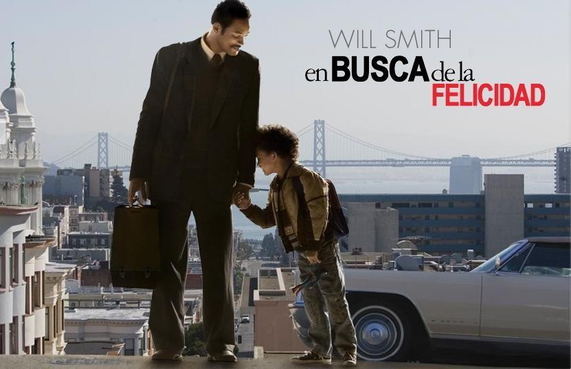 """La Persecución de la Felicidad (""""The Pursuit of Happyness"""" [sic] en inglés) es una película estadounidense dirigida por Gabriele Muccino, l..."""