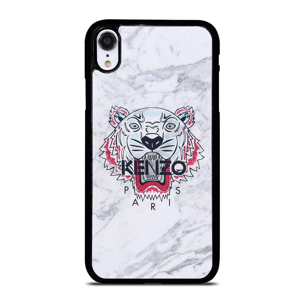 Kenzo paris tiger marble iphone xr case cover casesummer