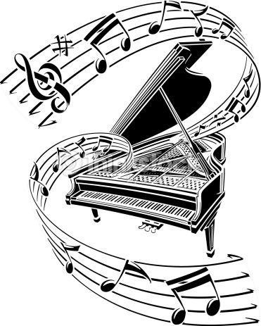 port e de musique avec cl de sol recherche google tatouage pied pinterest music piano. Black Bedroom Furniture Sets. Home Design Ideas