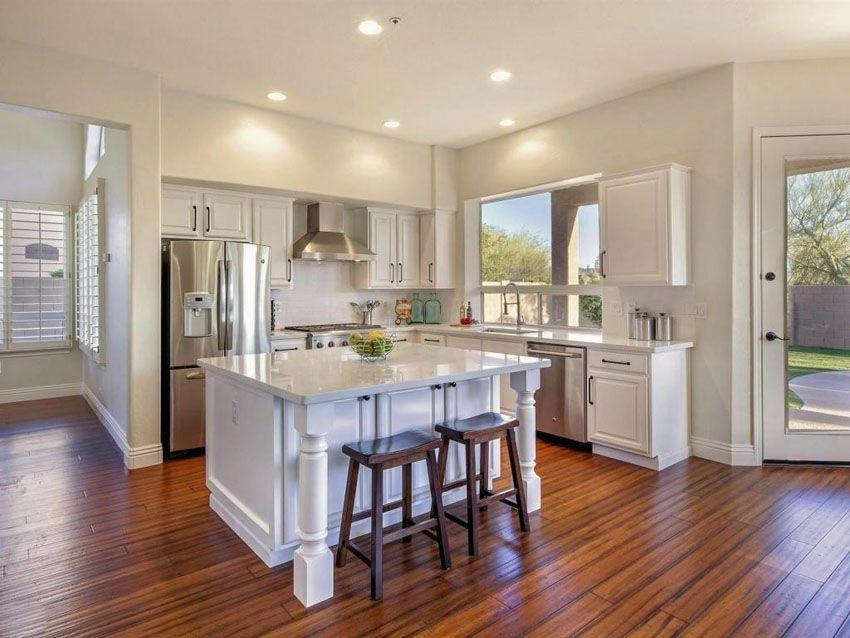 Hardwood Floors In The Kitchen Pros