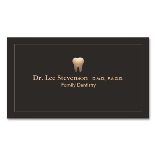 Elegant dentist office appointment business card dentist business elegant dentist office appointment business card reheart Image collections