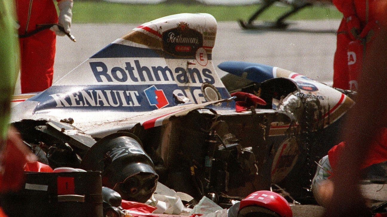Kate Walker's F1 blog The end of the road Ayrton senna