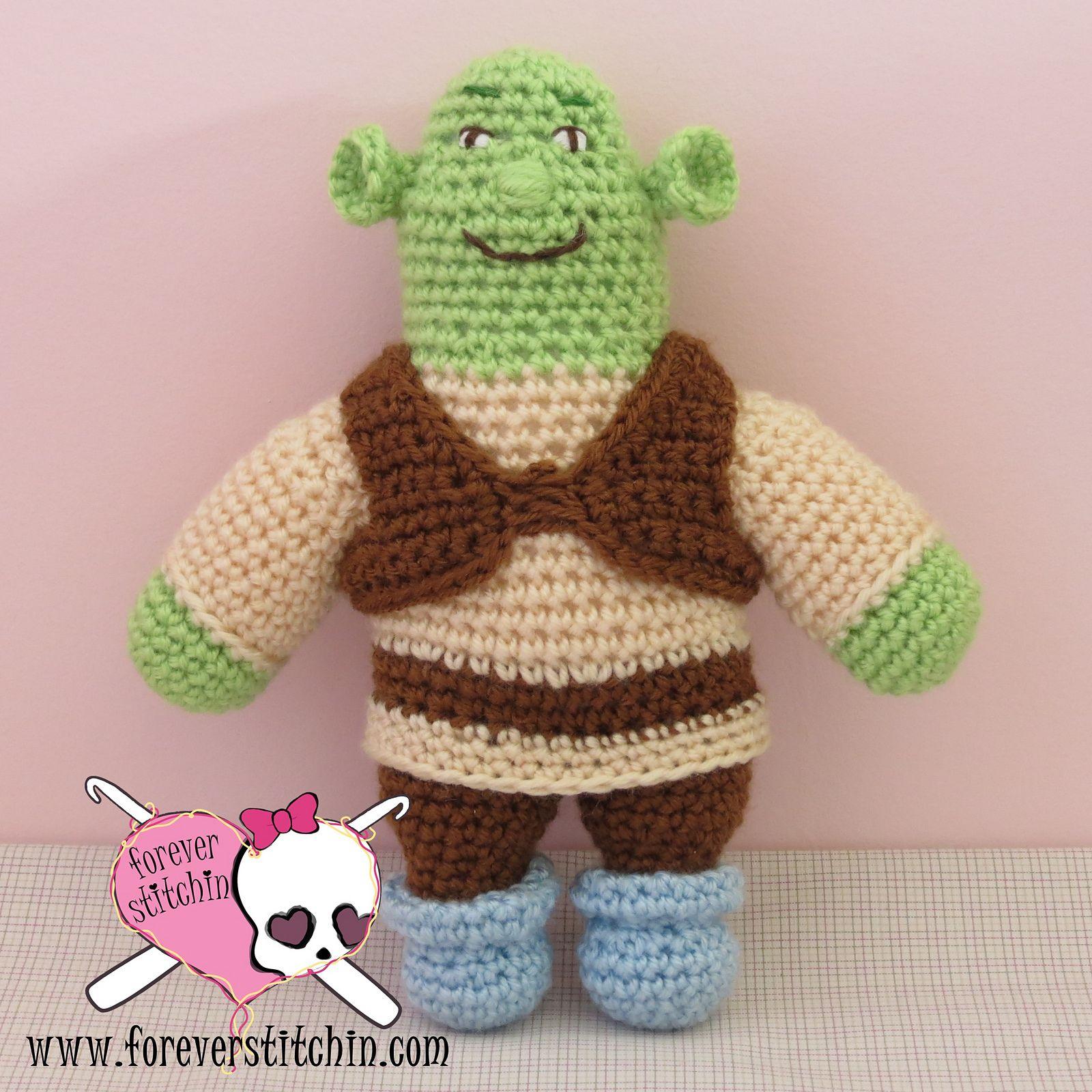 Ravelry  Shrek pattern by Forever Stitchin  2bda07d5499