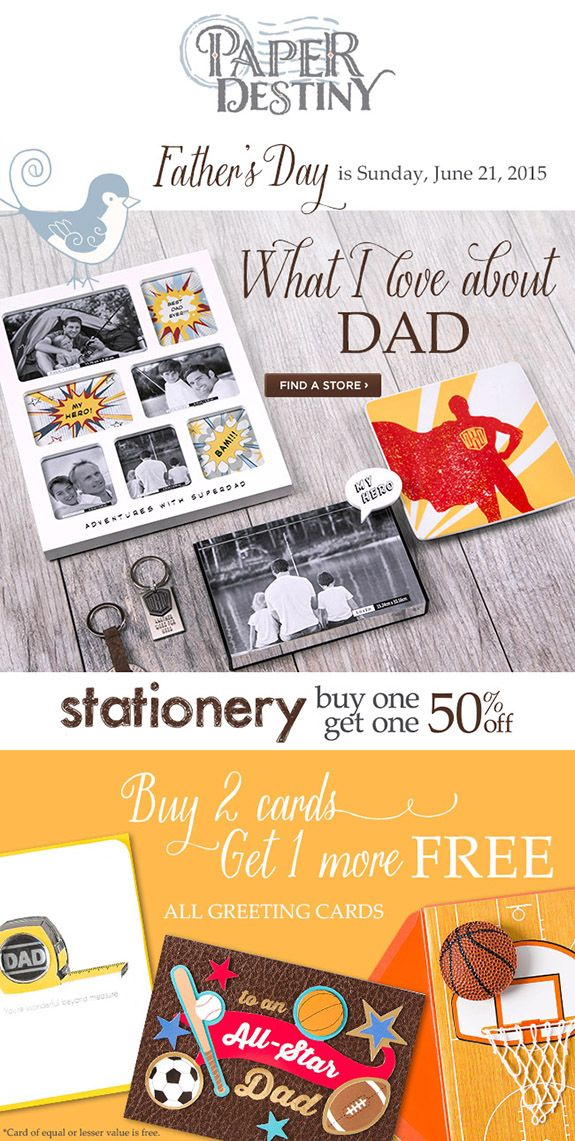 Paper Destiny - Email Marketing Layout Design (greeting cards ...