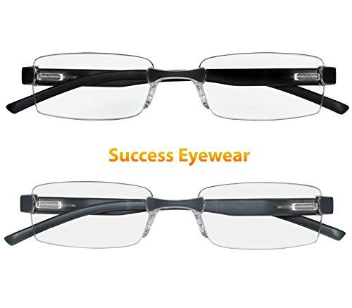 c193796590 Reading Glasses Set of 2 Rimless Ultra Lightweight Comfort Glasses for  Reading for Men and Women 35 -- Visit the image link more details.