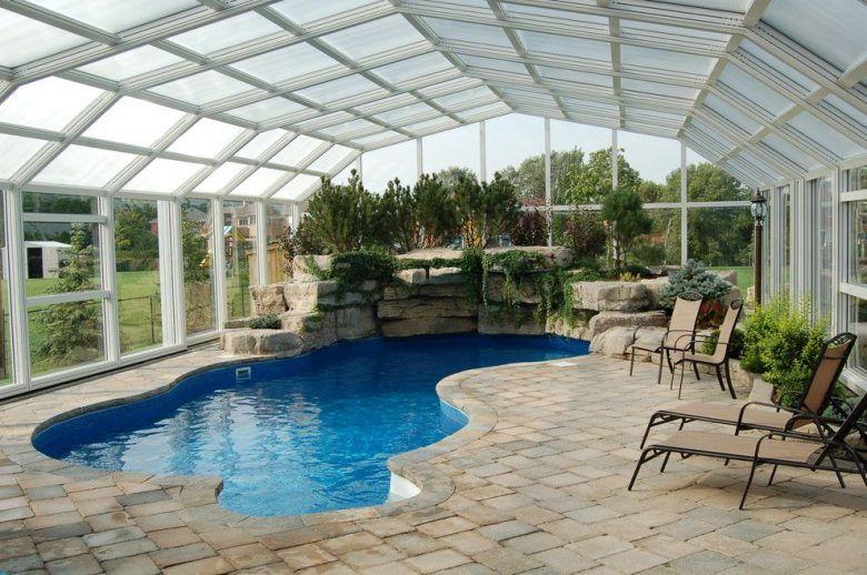 Image Result For Luxury Retractable Pool Enclosures Indoor Pool Design Indoor Swimming Pool Design Small Indoor Pool