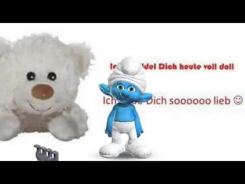 Biene Maja - ein Knuddelküßchen für dichHab dich liebSchlümpfe, Zoobe, Animation - YouTube