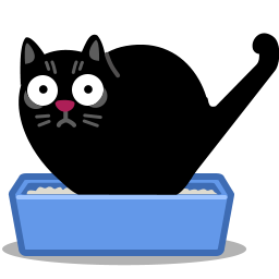 Cat Poo Icon Cat Icon Litter Box Cats