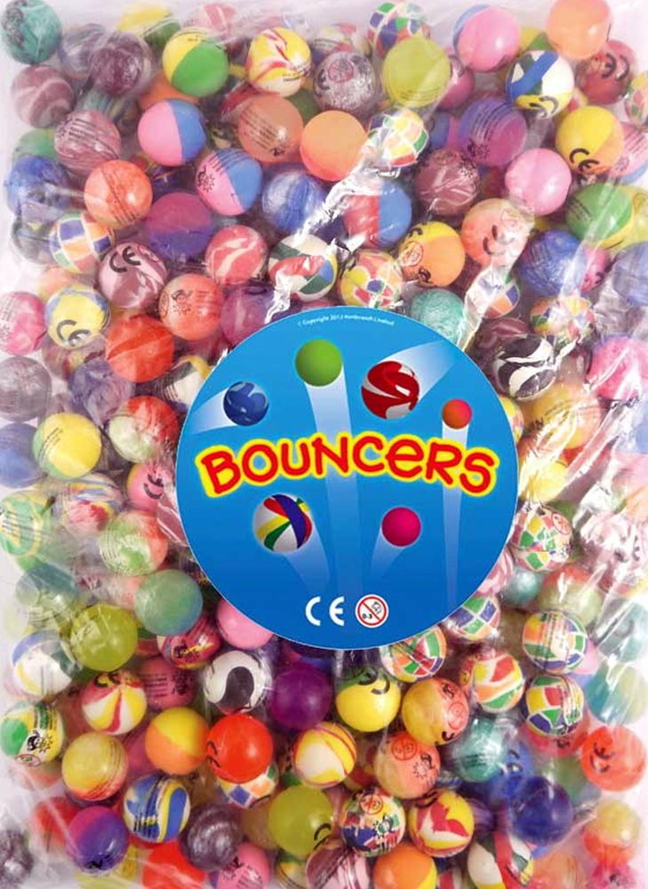 Details about BOUNCY JET BALLS PARTY LOOT BAG FILLERS BOYS GIRLS