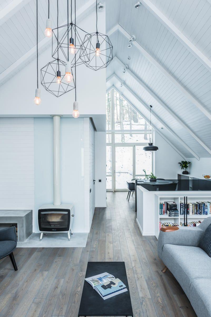 Verzauberkunst Haus Auf Stelzen Galerie Von Im Litauischen Wald Hat Die Schönsten Innenräume