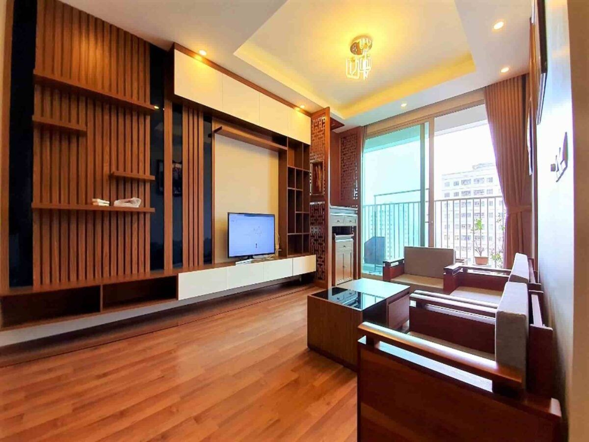Bridge View Apartment For Rent In N03 T2 Building Ngoai Giao Doan Hanoi 1 Apartments For Rent Bedroom Apartment Renting A House