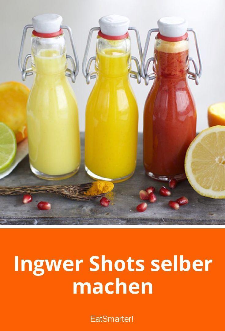 Ingwer Shots selber machen