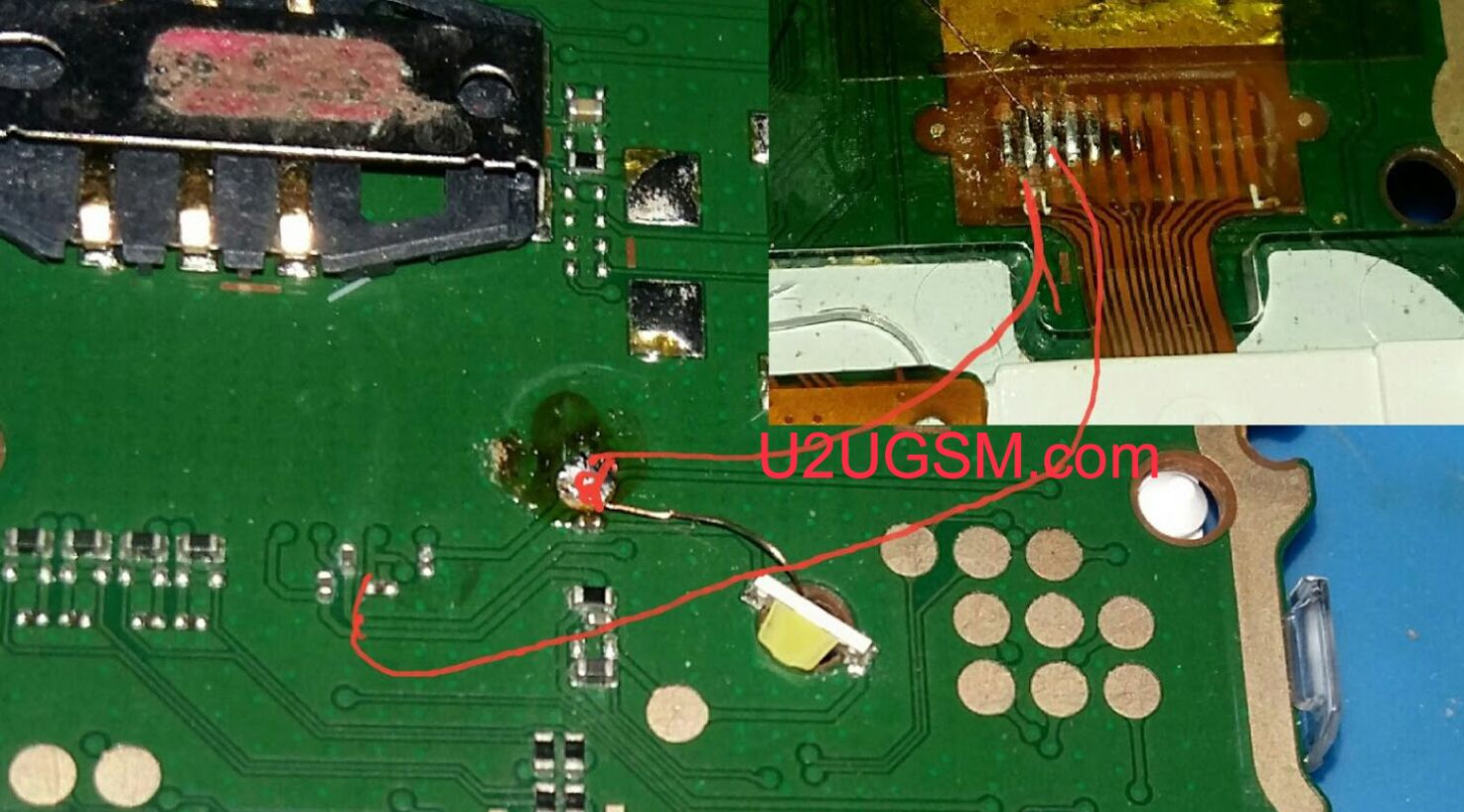 Nokia 105 Display Light Solution Lcd Jumper Problem Ways Light Display Nokia Lcd