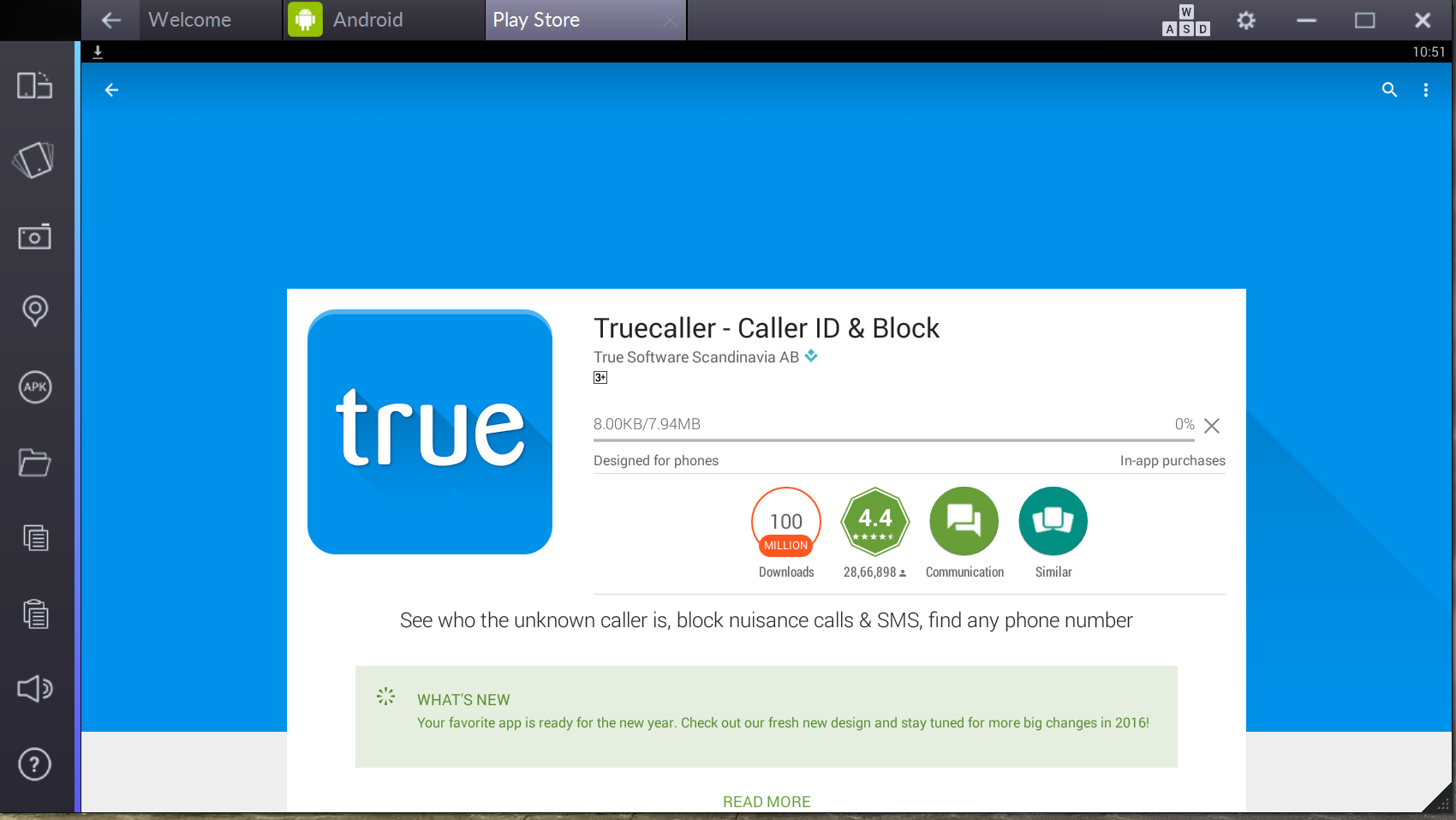 TrueCaller für PC Download kostenlos (Windows 7, 8, 8.1