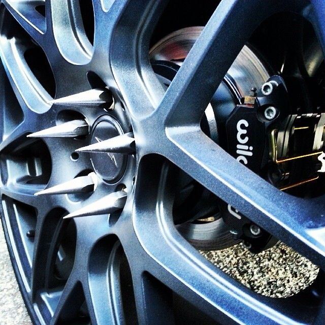 These Spiked Lug Nuts Aren T F G Around Car Wheel Trucks Hot Rods