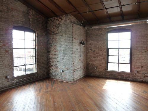 empty loft studio apartment rooms to view pinterest apartments studios and posts. Black Bedroom Furniture Sets. Home Design Ideas