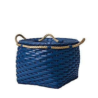 High Quality Rope Bin Collection   Cobalt By Indigo Great Ideas