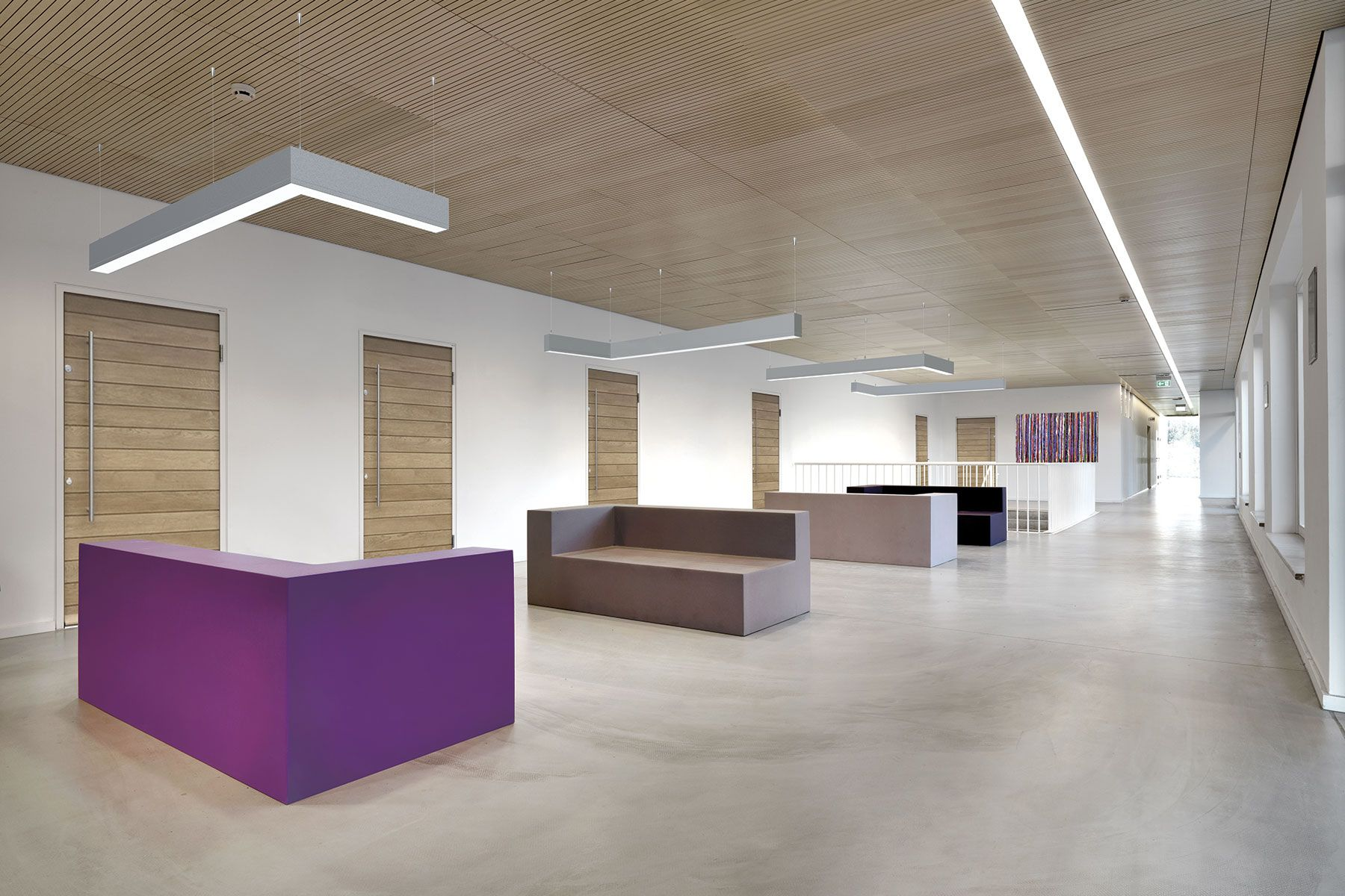 suspended office lighting. Office Lighting · TruGroove Suspended LED - Linear Indoor Luminaires | Philips Ledalite