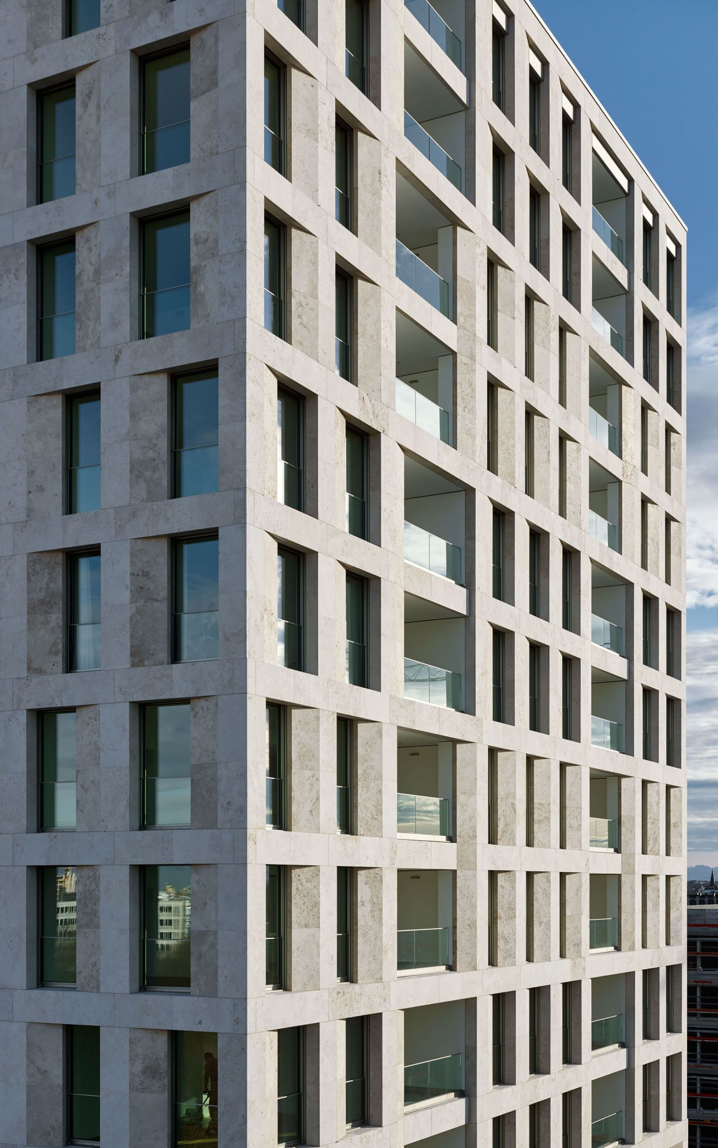 google office munich set. Max Dudler\u0027s New High-rise In Munich Sets The Tone As A Characteristic Landmark Of Google Office Set