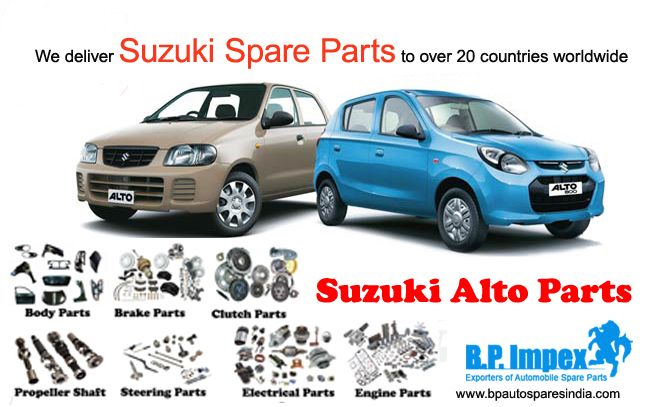 Looking For High End And Reliable Suzukialtoparts Then Bp Auto Spares India Is The Right Place To Go Their Vision To Acco Auto Spare Parts Suzuki Spare Parts