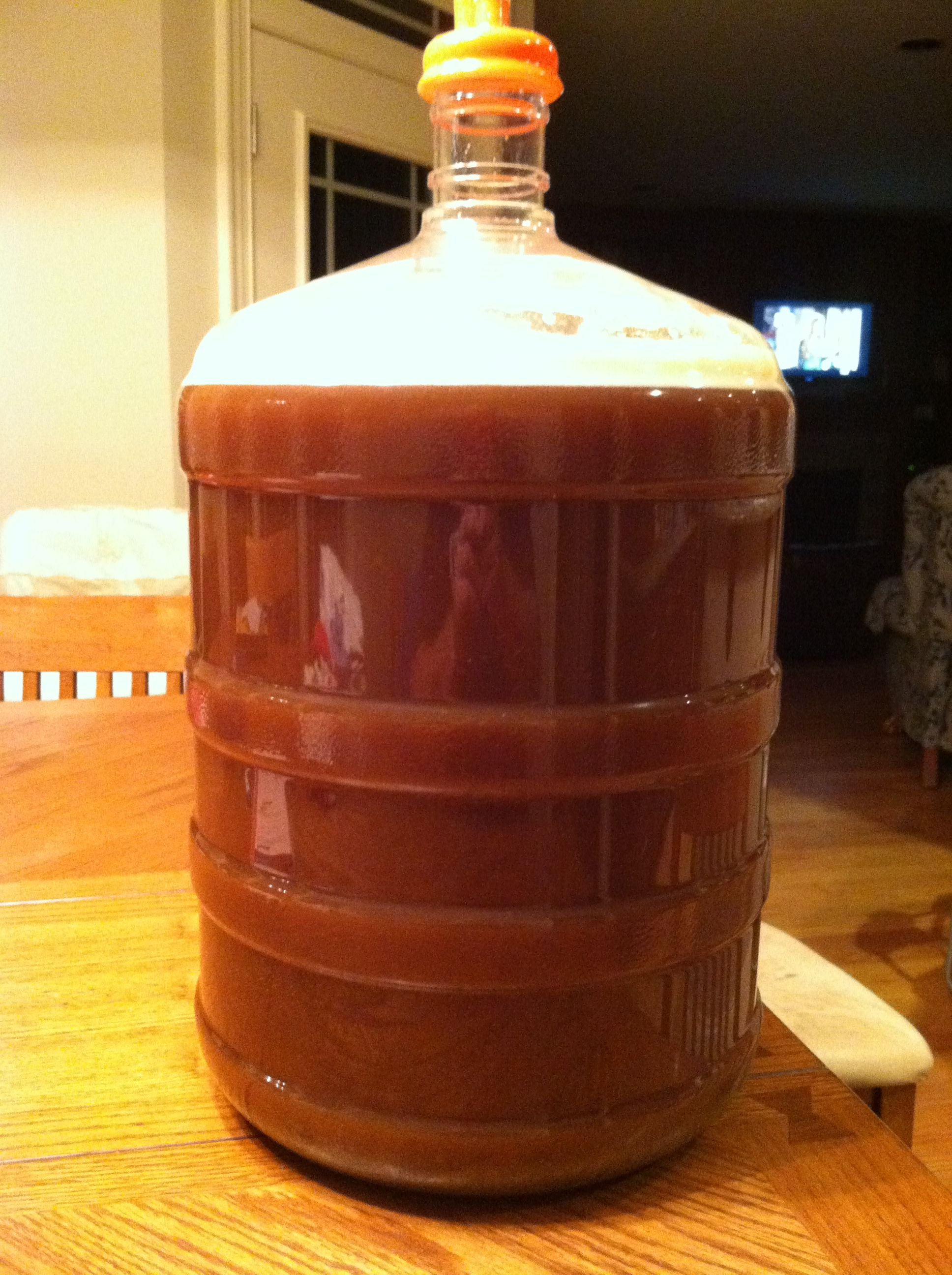 White House Honey Ale Home Brewing Bottle Ale